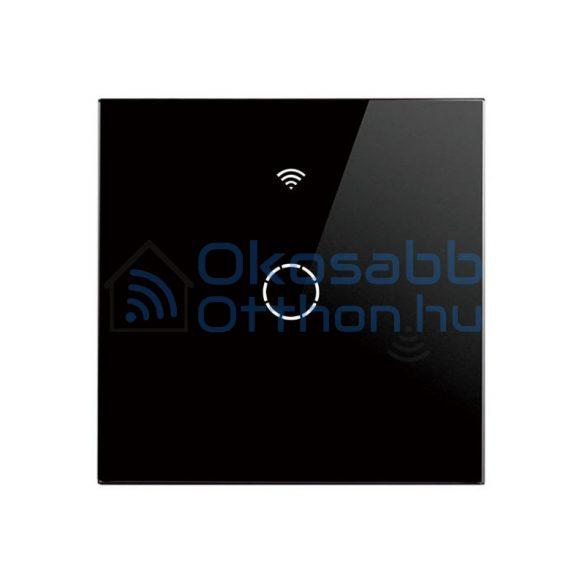SmartWise T4 EU 1C 1 Gangos Fekete Villanykapcsoló