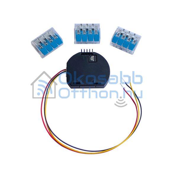Shelly DS18B20 hőmérséklet szenzor adapter Shelly 1 és 1PM okosrelékhez