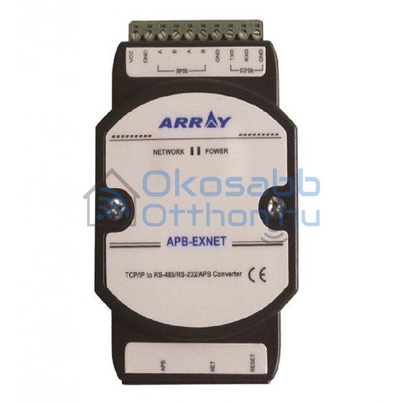 Array APB-EXNET Ethernetes kiegészítő modul