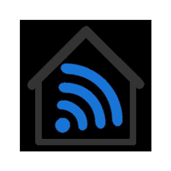 Shelly DIN-sín adapter Shelly RGBW2 okosvezérléshez