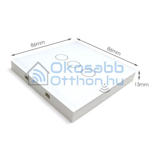 SmartWise T1R3 3 Gangos Fehér