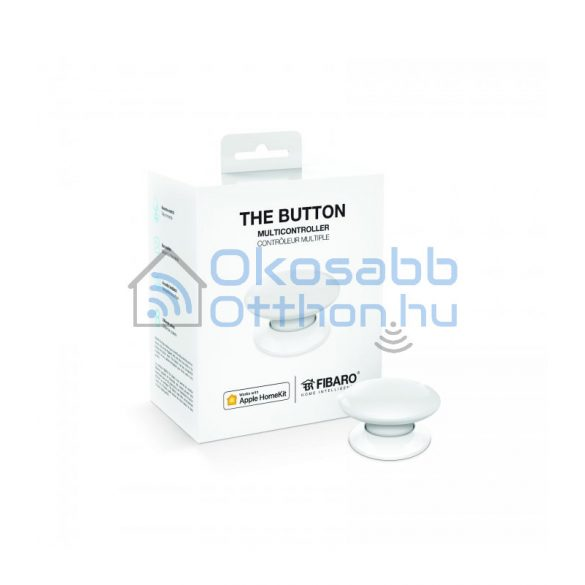 Fibaro The Button Fehér HomeKit