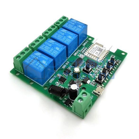 SmartWise 5V-32V 4 Áramkörös Rádiós (RF + Zigbee)