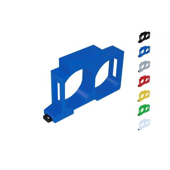 Shelly Dupla DIN-sín adapter 2 db Shelly 1 és 1PM okosreléhez