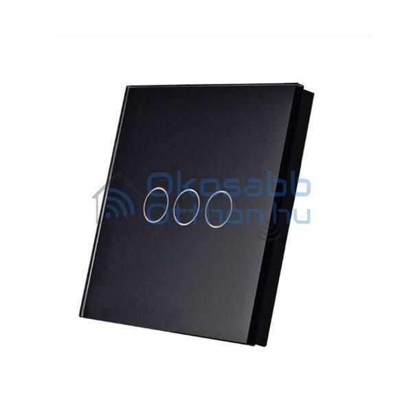 SmartWise T1R3 3 Gangos Fekete