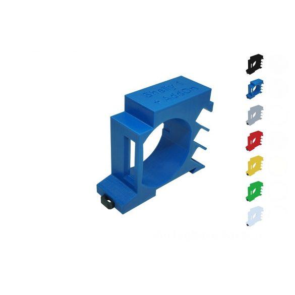 Shelly DIN-sín adapter Shelly 1 vagy Shelly 1PM okosrelékhez + Shelly hőmérséklet adapterhez
