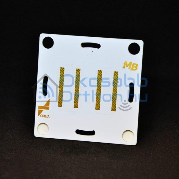 Material Button Dupla érintőkapcsolo
