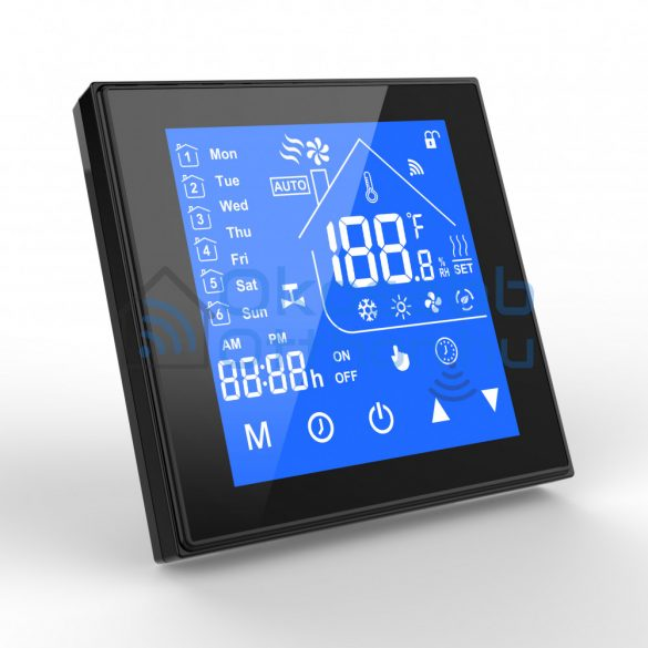 SmartWise GB (Electric Heating) Termosztát Fekete