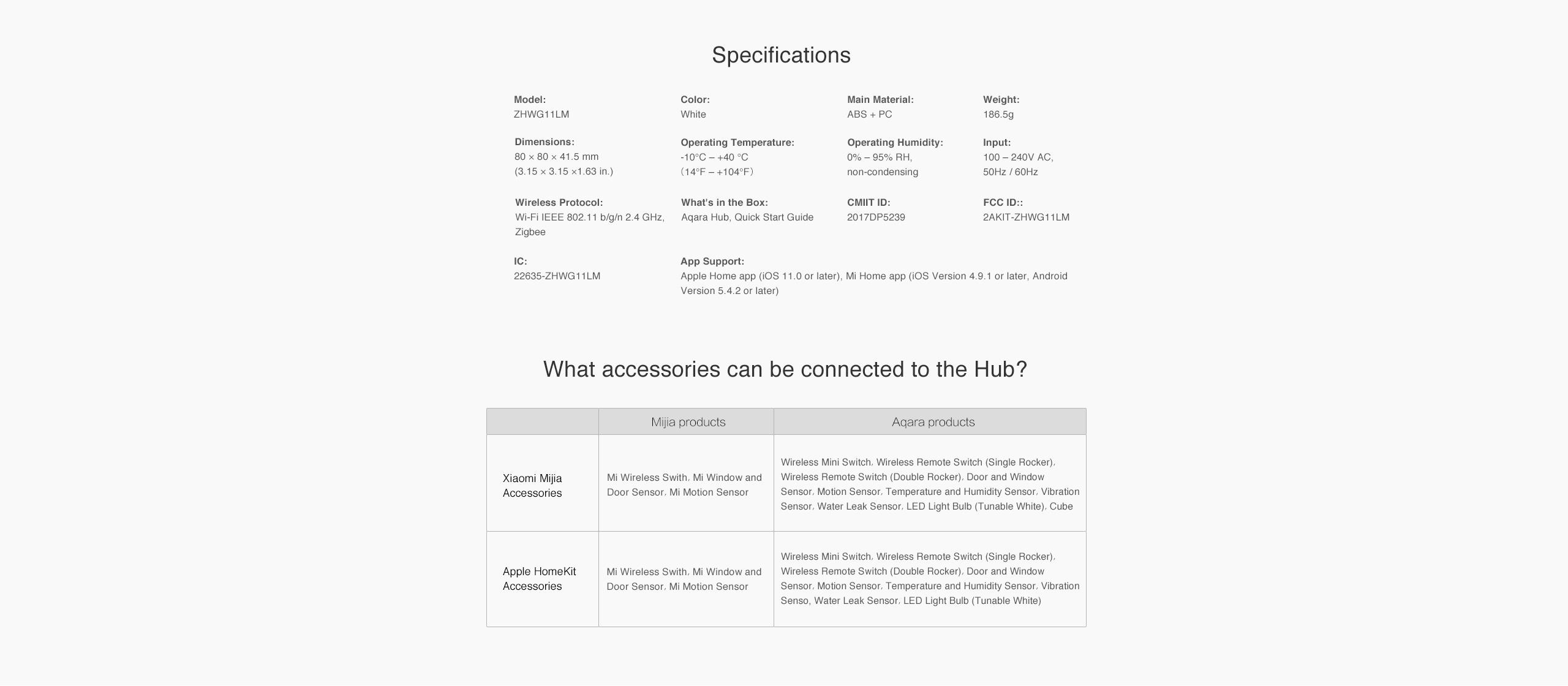 Xiaomi Aqara Hub EU